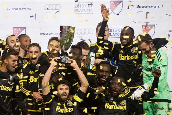 2015 MLS Cup winners Portland Timbers