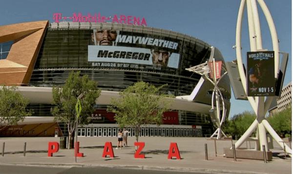 Mayweather vs McGregor - T-Mobile Arena